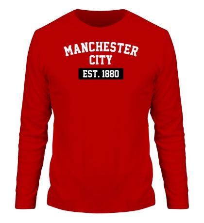 Мужской лонгслив FC Manchester City Est. 1880