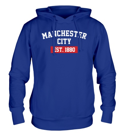 Толстовка с капюшоном FC Manchester City Est. 1880
