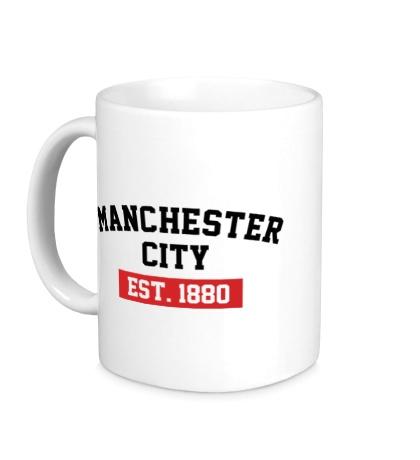 Керамическая кружка FC Manchester City Est. 1880