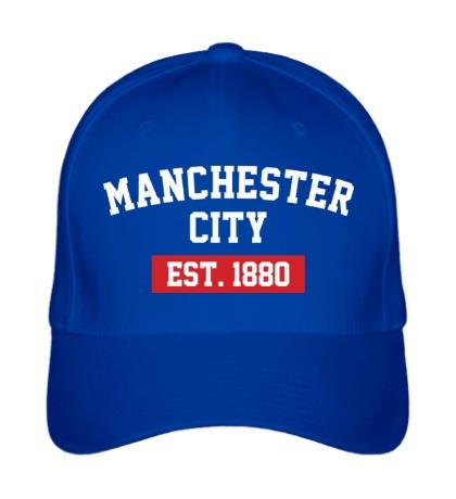 Бейсболка FC Manchester City Est. 1880