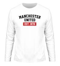 Мужской лонгслив FC Manchester United Est. 1878