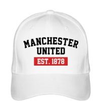 Бейсболка FC Manchester United Est. 1878
