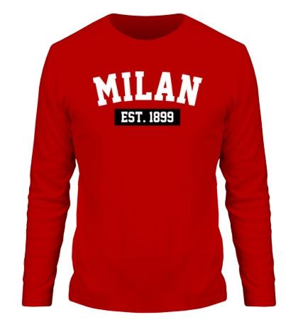 Мужской лонгслив FC Milan Est. 1899