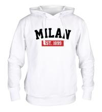 Толстовка с капюшоном FC Milan Est. 1899