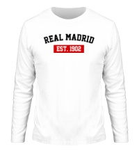 Мужской лонгслив FC Real Madrid Est. 1902