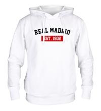 Толстовка с капюшоном FC Real Madrid Est. 1902