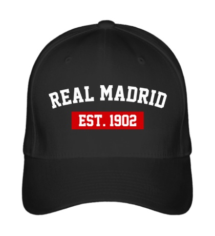 Бейсболка FC Real Madrid Est. 1902