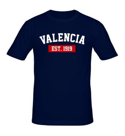 Мужская футболка FC Valencia Est. 1919