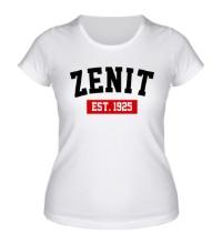 Женская футболка FC Zenit Est. 1925