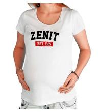 Футболка для беременной FC Zenit Est. 1925