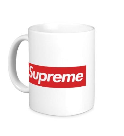 Керамическая кружка «Supreme»