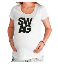 Футболка для беременной Swag