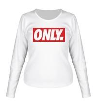 Женский лонгслив Only Obey