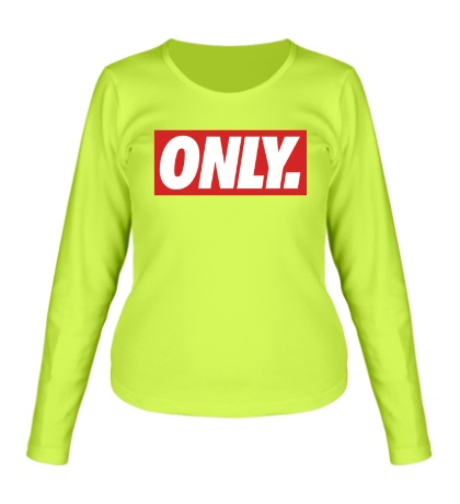Женский лонгслив «Only Obey»