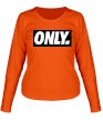 Женский лонгслив «Only Obey» - Фото 1