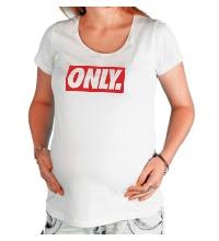 Футболка для беременной Only Obey