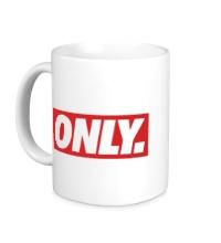 Керамическая кружка Only Obey