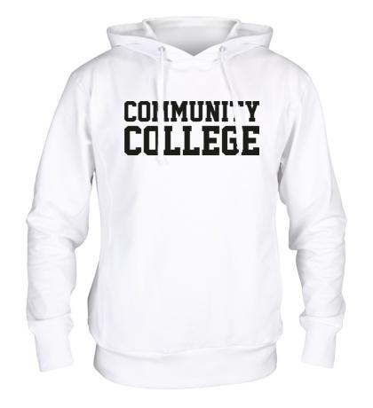 Толстовка с капюшоном Community College