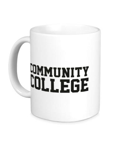 Керамическая кружка Community College
