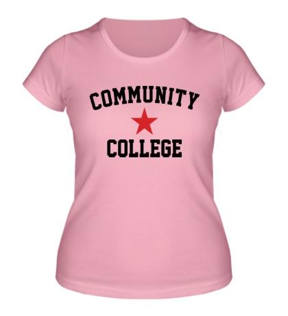 Женская футболка College Star