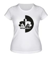 Женская футболка WorkOut Инь Янь