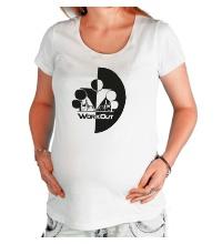 Футболка для беременной WorkOut Инь Янь