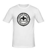 Мужская футболка Workout: здоровое поколение