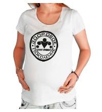 Футболка для беременной Workout: здоровое поколение