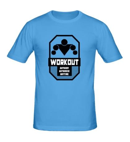 Мужская футболка Workout Anybody