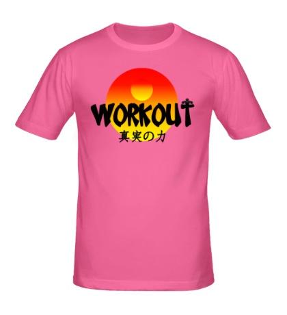 Мужская футболка WorkOut Sunset