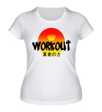Женская футболка WorkOut Sunset
