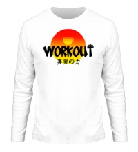 Мужской лонгслив WorkOut Sunset