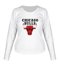 Женский лонгслив Chicago Bulls