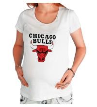 Футболка для беременной Chicago Bulls