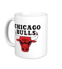 Керамическая кружка Chicago Bulls