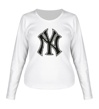 Женский лонгслив NY Yankees