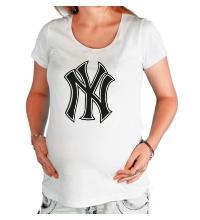Футболка для беременной NY Yankees