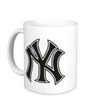 Керамическая кружка NY Yankees