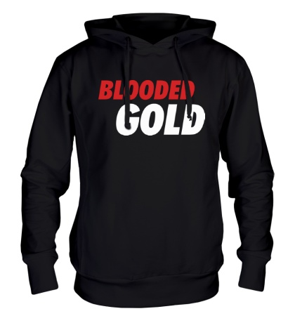 Толстовка с капюшоном Blooded Gold