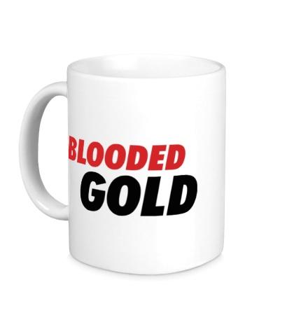 Керамическая кружка Blooded Gold