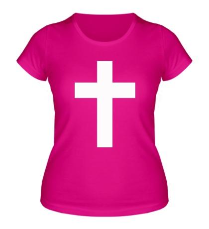 Женская футболка Классический крест