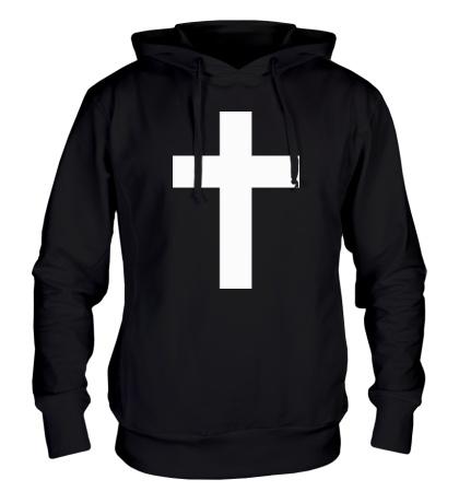 Толстовка с капюшоном Классический крест