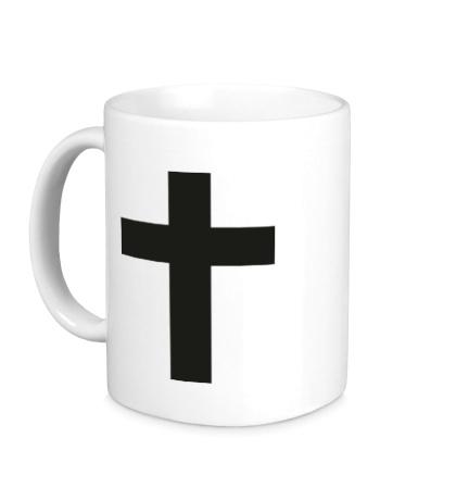 Керамическая кружка Классический крест