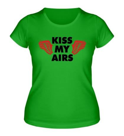 Женская футболка Kiss my Airs