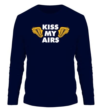 Мужской лонгслив Kiss my Airs