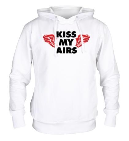 Толстовка с капюшоном Kiss my Airs