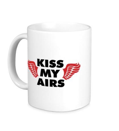 Керамическая кружка Kiss my Airs