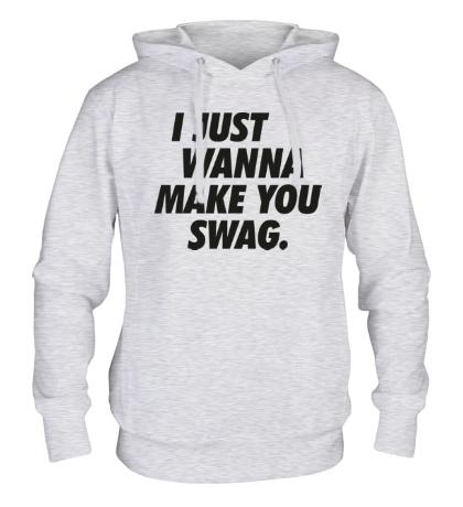 Толстовка с капюшоном Make you Swag