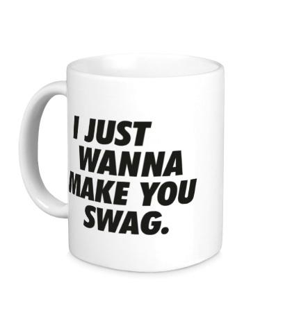 Керамическая кружка Make you Swag