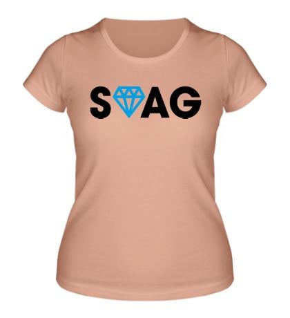Женская футболка SWAG Diamond